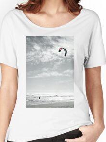 Lone Ocean Surfer Women's Relaxed Fit T-Shirt