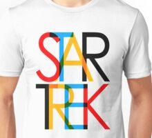 Star Trek - Swiss Modern Design Unisex T-Shirt