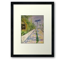 Bay Dr Framed Print