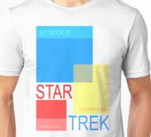 Star Trek - Swiss Modern (Science, Command, Operations) Unisex T-Shirt