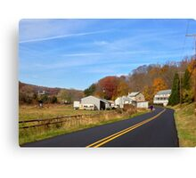 country lane Canvas Print