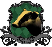 Hufflerin House Crest by SedatedArtist