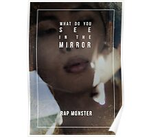 BTS Wings - Rap Monster - Reflection Poster