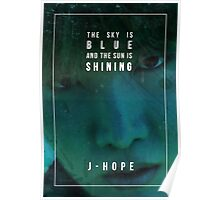 BTS Wings - J-Hope - Mama Poster