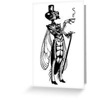 Sir Dragonfly Greeting Card
