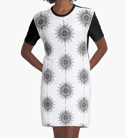 EP. PATTERN #09 Graphic T-Shirt Dress