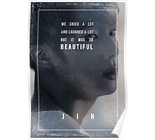 BTS Wings - Jin - Awake Poster