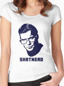 SHATNERD Women's Fitted Scoop T-Shirt