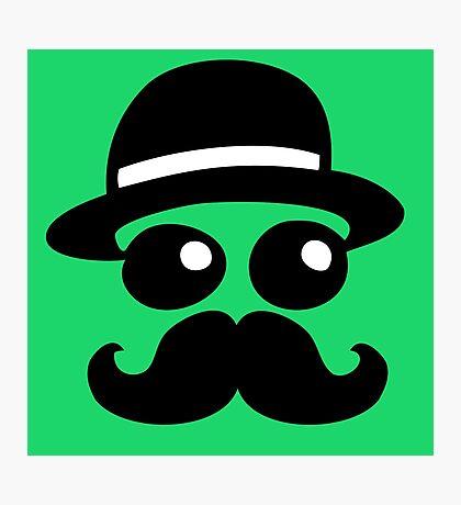 swag mustache moustache Photographic Print