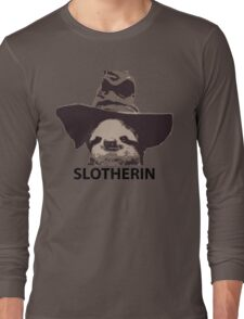 Slotherin (Slytherin) Long Sleeve T-Shirt
