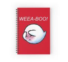 Weea-boo! Spiral Notebook
