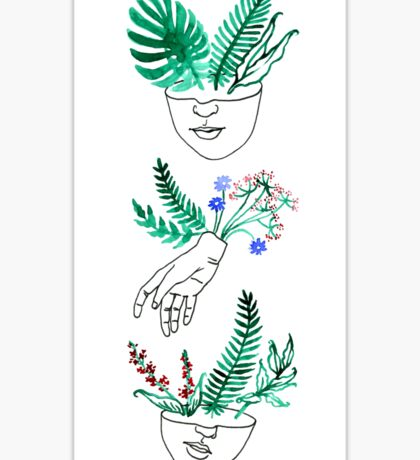 Flora y fauna Sticker