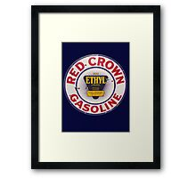 Red Crown Ethyl Gasoline Framed Print