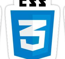 HTML CSS JS Badge Logo Sticker