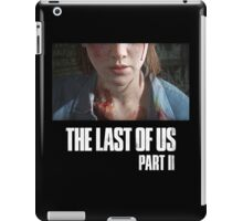 The Last Of Us Part II - Ellie (dark collection 01) iPad Case/Skin