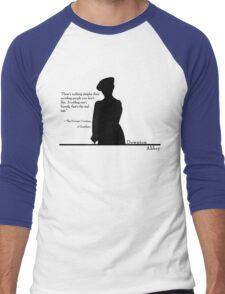 Avoiding People Men's Baseball ¾ T-Shirt