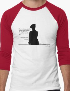 Avoiding People Men's Baseball ¾ T-Shirt