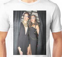 Foxxy Face Couture models Unisex T-Shirt