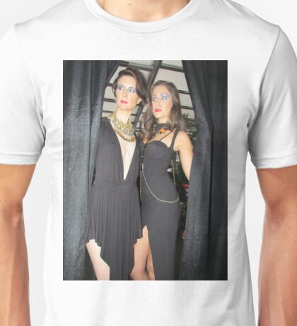Foxxy Face Couture models Unisex T-Shirt