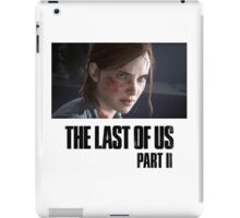 The Last Of Us Part II - Ellie (light collection 02) iPad Case/Skin