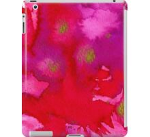 Red Watercolor iPad Case/Skin
