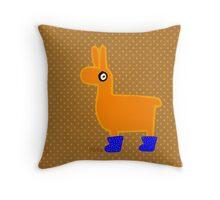 Nits for Kids - Lea the Llama Cushion Throw Pillow