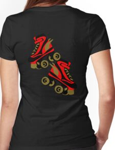 Cool golden roller skates Roller Derby T-Shirt