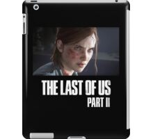 The Last Of Us Part II - Ellie (dark collection 02) iPad Case/Skin