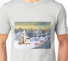 May the Beauty of the Season Bring you Peace and Joy Unisex T-Shirt