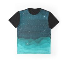 Paper Waves Graphic T-Shirt