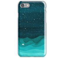 Paper Waves iPhone Case/Skin