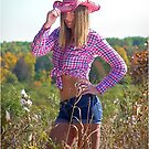 Country Girl in The Fall by Jamie Cameron