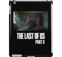 The Last Of Us Part II - Ellie (dark collection 03) iPad Case/Skin