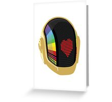 Discovery Helmet - Heart Greeting Card