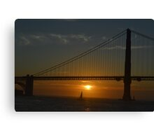 Bridge of Light Canvas Print