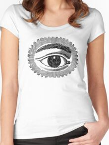 The Watching Eye Women's Fitted Scoop T-Shirt