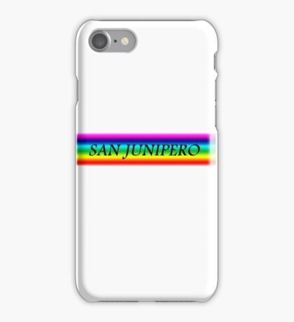 San junipero iPhone Case/Skin