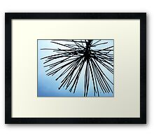 Brush The Sky Framed Print