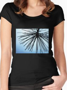 Brush The Sky Women's Fitted Scoop T-Shirt