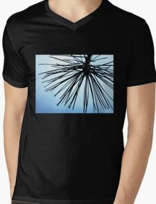 Brush The Sky Mens V-Neck T-Shirt
