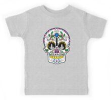 Mexican Coffee Skull Kids Tee
