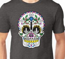 Mexican Coffee Skull Unisex T-Shirt