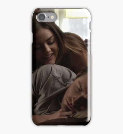 Ezra Fitz and Aria Montgomery iPhone Case/Skin