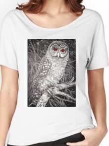 Red-Eyed Owl Women's Relaxed Fit T-Shirt