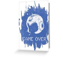 It's Game Over Mega Man, Game Over! Greeting Card