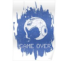 It's Game Over Mega Man, Game Over! Poster