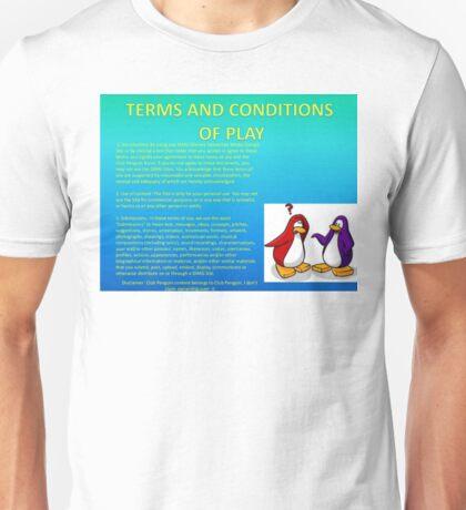 Club Penguin T&C's Unisex T-Shirt