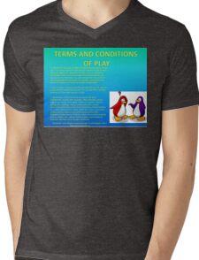 Club Penguin T&C's Mens V-Neck T-Shirt