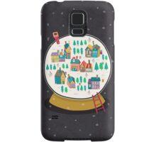 Christmas snow globe  Samsung Galaxy Case/Skin