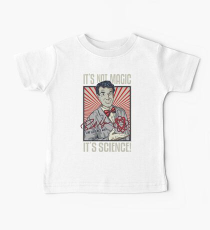 Official Bill Nye - It's Science Shirt Baby Tee